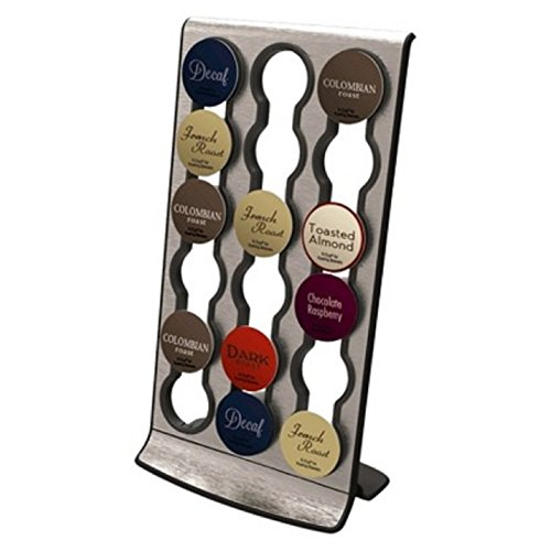 """Cafe Corner """"The Rack"""" Organizer Compatible with K-Cup"""