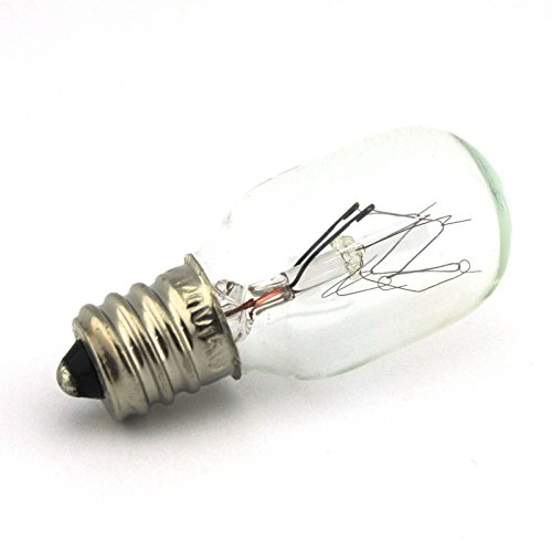 Light Bulb, Screw-in, for Baby Lock, Brother, Elna, Necchi, Pfaff, White #7SCW (Sewing Machine Gemsy)