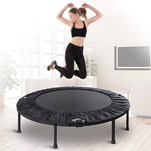 Qwer Trampoline Bounce Folding Indoor Mini Affordable & Fun Way to Lose Weight and get Mega Rebound Maximum Load 275kg