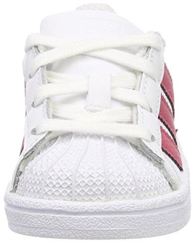 adidas Superstar I, Zapatillas de Gimnasia Unisex Bebé Blanco (Ftwbla / Ftwbla / Negbás 000)