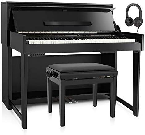 Set de Piano Digital Vertical DP-90U de Gear4music y ...