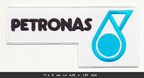 petronas-iron-sew-on-cotton-patches-auto-cars-racing-motor-sports-mercedes-amg-f1-by-patchmaniac
