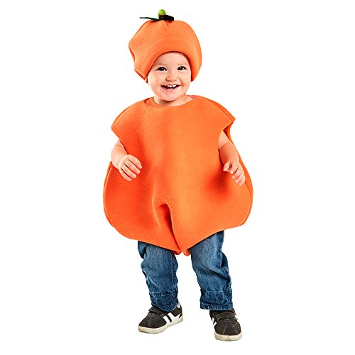 FunFill Toddler Orange Costume (Size: 1T-2T)]()
