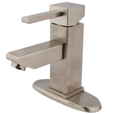 Modern Single Handle 4 in. Centerset Lavatory Faucet
