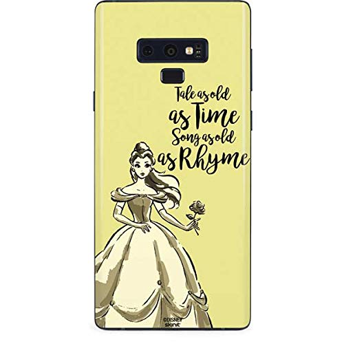 new concept 18e34 7ff13 Amazon.com: Skinit Belle Tale As Old As Time Galaxy Note 9 Skin ...