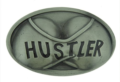 Hustler Belt Buckle Collectible Halloween Costume Fashion Metal Antiqued New -