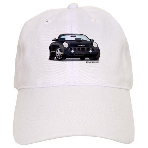 - CafePress 2002 05 Ford Thunderbird Blk Baseball Cap with Adjustable Closure, Unique Printed Baseball Hat