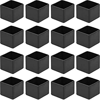 Anwenk 1 X1 Quot Square Chair Leg Floor Protectors 1inch 1 In