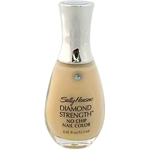 Sally Hansen Diamond Strength No Chip Nail Color, Baguette Beige 0.45 oz (Pack of 2)