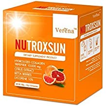 Nutroxsun 360 UVA UVB Natural Dietary Supplement Sunscreen (15g 10sachets) by Verena