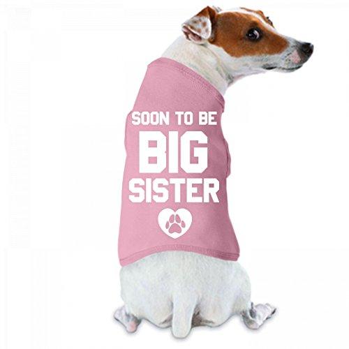 Soon To Be Big Sister Dog Tee: Doggie Skins Dog Tank Top