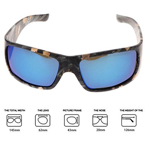Ciclismo 6 Sol protección Lamdoo Pesca Deporte UV400 conducción polarizadas Nocturna visión Gafas la para 6 de para 6 wTXE8Xq