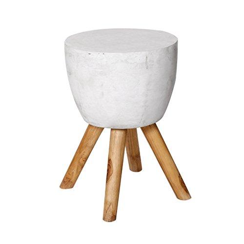 side table teak wood concrete round wood vintage stool brillibrum flyer produsen furniture. Black Bedroom Furniture Sets. Home Design Ideas