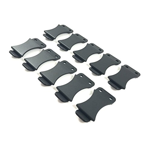Gun Guy Gear - Kydex Holster Quick Clips, 1.50'' Belts - 10 Pack by Gun Guy Gear