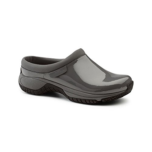 Merrell SureGrip Womens Encore Moc SG Castle Rock Casual Slip Resistant Work Shoes 8M (Merrell Fur Clog)