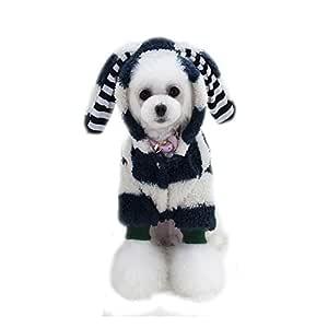 OWIKAR Perro Perro Suéter Cachorro Perro Perro Abrigo Gran Oído ...
