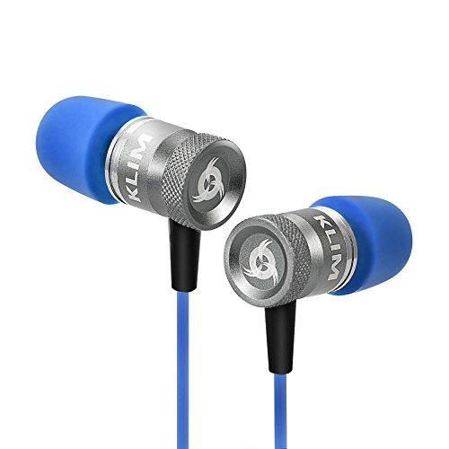 KLIM Fusion High Quality Audio Kopfhörer - Langlebig + 5 Jahre Garantie - Innovativ: In-Ear-Kopfhörer mit Memory Foam [Neue 2017 Version]
