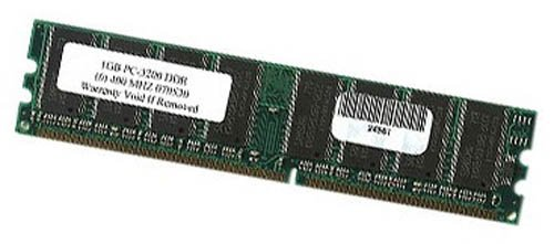 Samsung 1024DDR3200-SAMSUNG 1GB 184pin PC-3200 DDR-400 Desktop Memory RAM - NEW