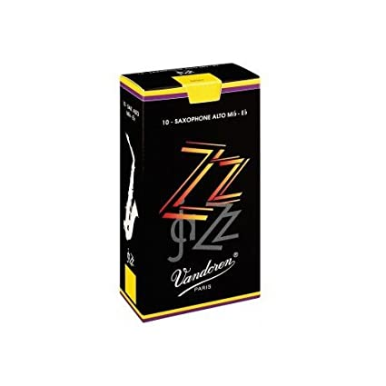 Amazon.com: CAÑAS SAXOFON ALTO - Vandoren ZZ (Caja Negra) (Dureza 2) (Caja de 10 Unidades): Musical Instruments