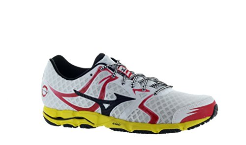 Mizuno Shoes Racing (Mizuno Men's Wave Hitogami Running Shoe,White,7 D US)