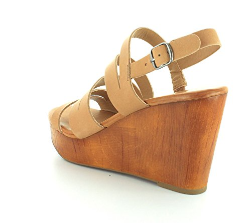 Platform Casual Clay Toe Marinaa Womens Brand Sandals Lucky Open HUwRXY