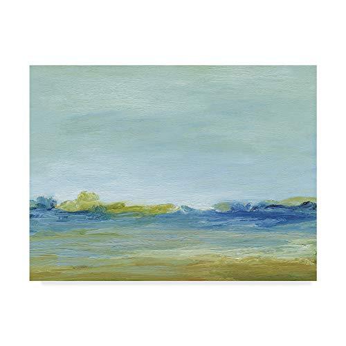 Trademark Fine Art The Shore by Sharon Gordon, 18x24-Inch