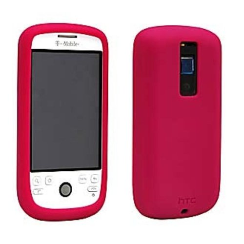 HTC T-Mobile myTouch 3G Silicone Case- Raspberry