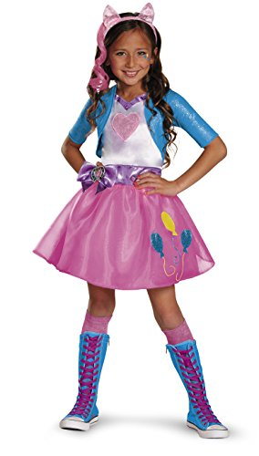 Pinkie Pie Equestrian Deluxe Costume, Small (4-6x) -