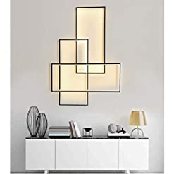 Interior Lighting Sconces Wall Lighting Living Room Hallway Staircase Bedroom Wall Decor Dimmable LED Wall Mount Lamp Fixture Modern… modern wall sconces
