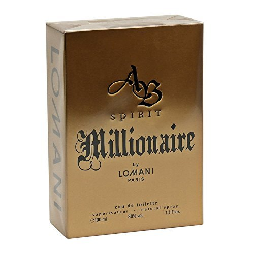 AB Spirit Millionaire By LOMNI Cologne for Men 3.3oz / 100ml EDT - Spirit Perfume Ab
