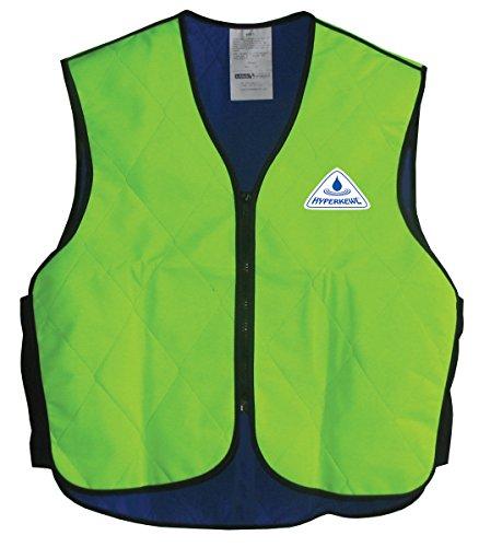 HyperKewl Cooling Sport Vest - Enhance your performance in the Heat! - -HI-VIZ LIME-3X