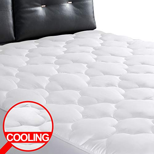 EDILLY Mattress Toppers FULLXL Extra Thick 400TC 100% Cotton Cooling