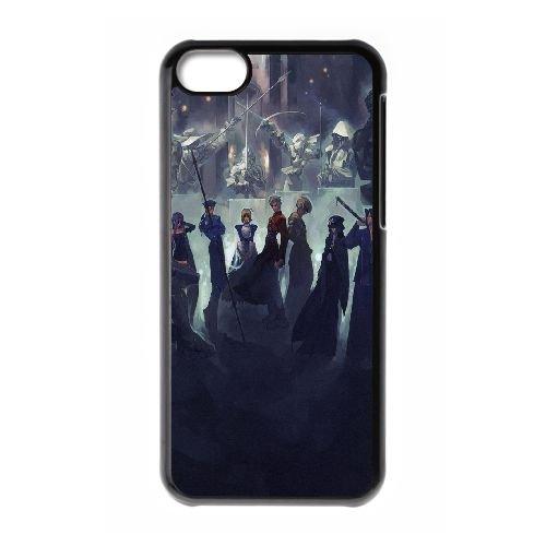 Fate Stay Night 338 coque iPhone 5C Housse téléphone Noir de couverture de cas coque EOKXLLNCD12321