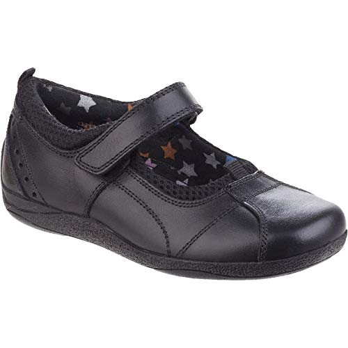 - Hush Puppies Childrens Girls Cindy Back to School Shoes (1 M US Little Kid) (Black)