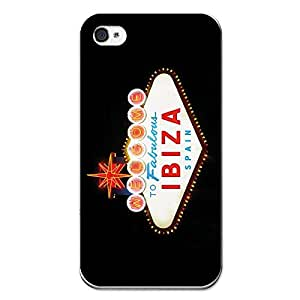 BeCool iPhone 4 iPhone 4S Soft Gel Cover Rubber TPU Welcome to the Fabulous Ibiza