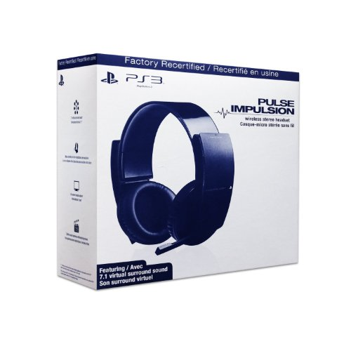 (PS3 Wireless Stereo Headset - Factory Recertified)