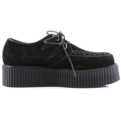 Demonia Door Pleaser 502 Veggie Creeper Black