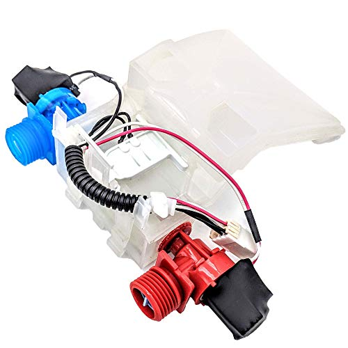Supplying Demand W10144820 W10311458 Washer Dual Water Valve Fits Whirlpool ()