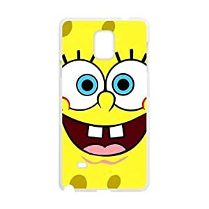 aqiloe diy Lovely SpongeBo Cell Phone Case for Samsung Galaxy Note4