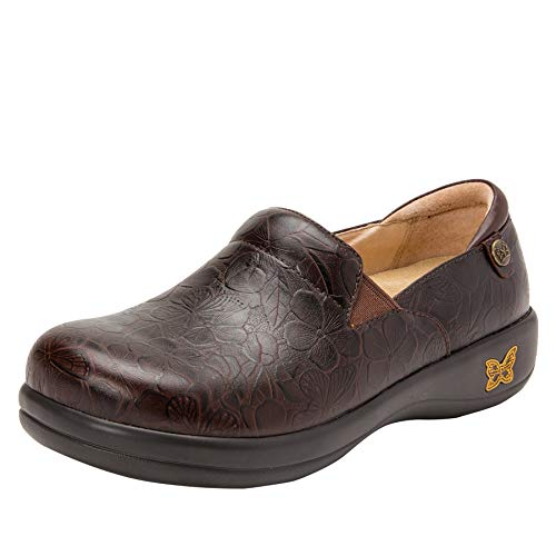 - Alegria Keli Womens Professional Shoe Flutter Choco 14 M US