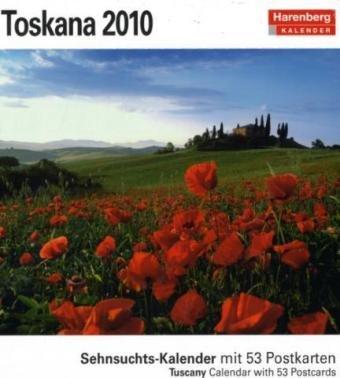 Harenberg Sehnsuchts-Kalender Toskana 2010