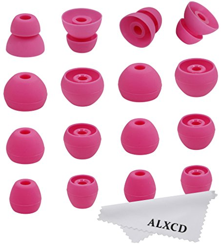 ALXCD Ear Tip for Tour2 Beats Tour Earphone, 8 Pair SML & Do