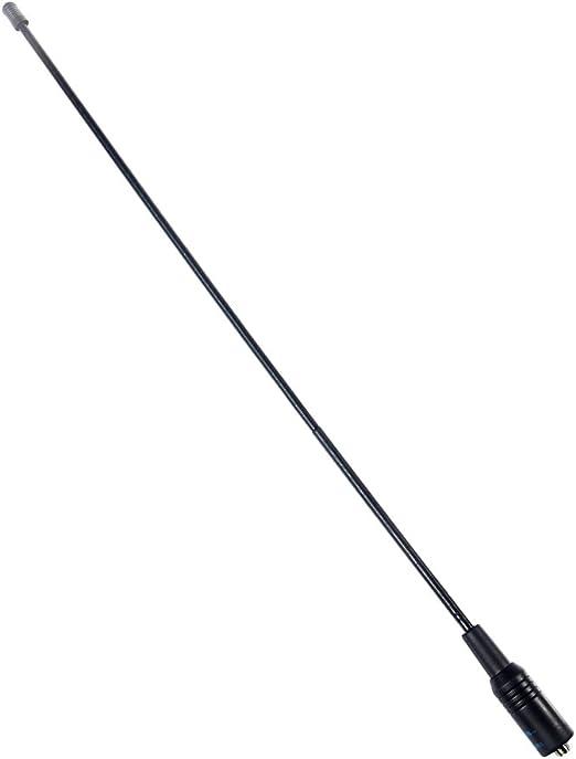 Antena NA-771 SMA doble banda hembra, 144/430 MHz, 10 W para Baofeng UV5R UV-82, de la marca Winwill