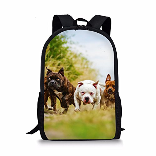 l Dog Backpack Book Bag for Kids ()