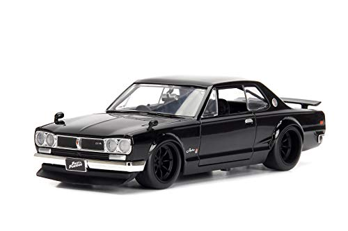 2000 Authentic Collection - Jada Toys Fast & Furious 1:24 Nissan Skyline 2000 GTR 1 Brian's, Black