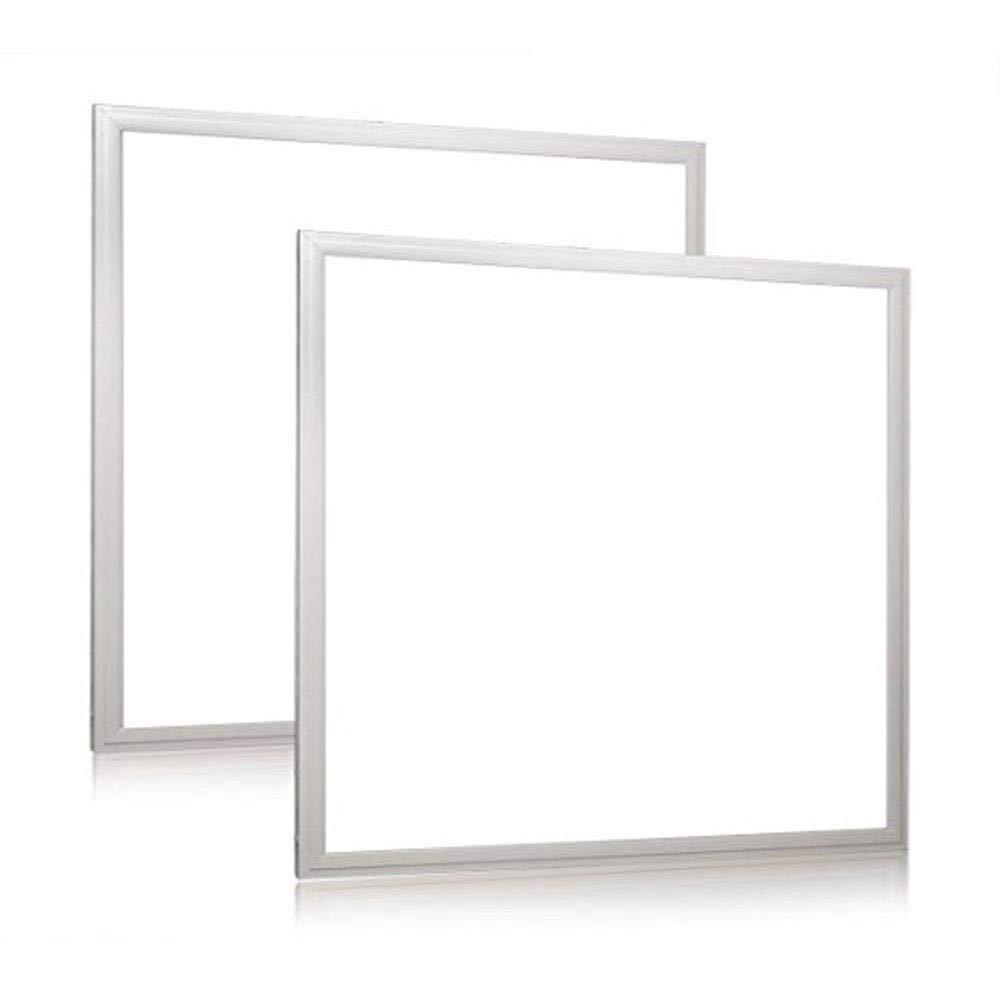 1000LED 2 Pack 2x2 FT LED Flat Panel Light, 36W 0-10V Dimmable Drop Ceiling LED Flat Panel Lighting 4000k