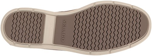 Sebago Litesides 5 Boat Women's On Leather Shoe B Taupe Slip Dark Us q5wr1zq