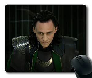 Loki Avengers Loki Thor Rectangle Mouse Pad by eeMuse