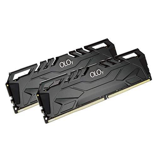 OLOy DDR4 RAM 64GB (2x32GB) 3000 MHz CL16 1.35V 288-Pin Desktop Gaming UDIMM (MD4U323016DJDA)
