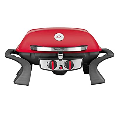 Royal Gourmet Red 2-burner Portable Tabletop Propane Gas Grill